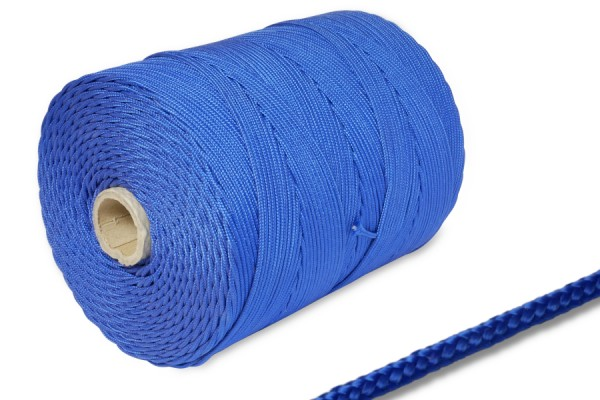 PP-cords on spool 500 m, blue