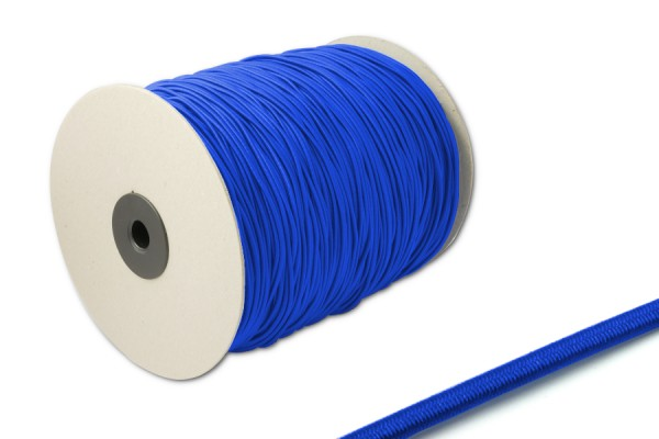 Elastics on spool 500 m, middle blue