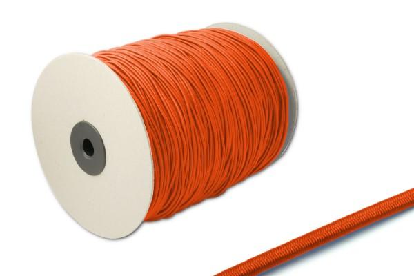 Elastics on spool 500 m, dark-orange