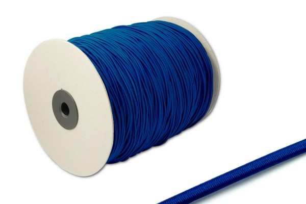 Elastics on spool 500 m, blue