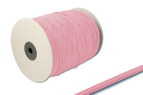 Gummischnüre, auf 500 m Rolle, rosa