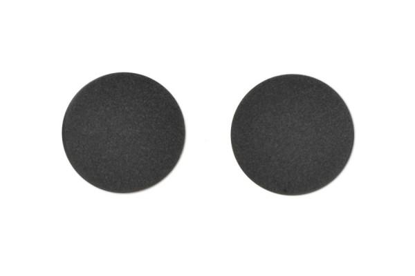 CD-Halter selbstklebend schwarz