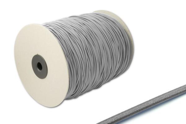 Elastics on spool 500 m, grey