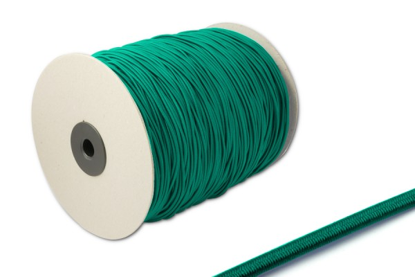 Elastics on spool 500 m, dark green