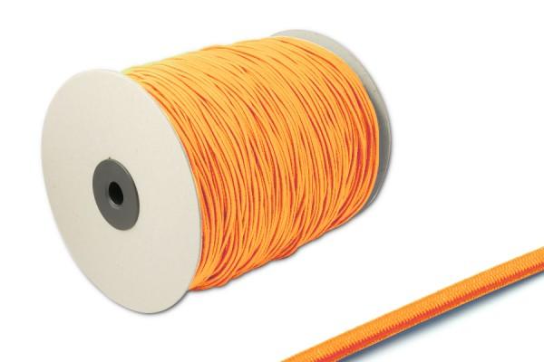 Elastics on spool 500 m, orange