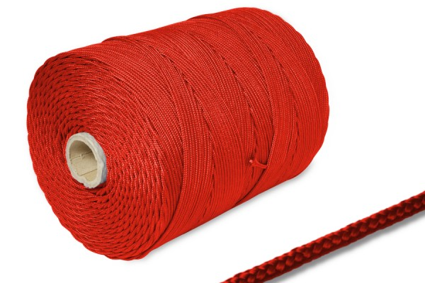 PP-cords on spool 500 m, red