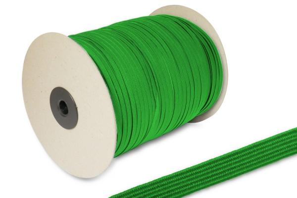 Flat Elastics on spool 500m, green